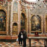 Antesala del camarín de la Virgen del monasterio de Guadalupe