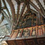 Organo de la iglesia del monasterio de Guadalupe