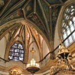 Techo del Coro de la iglesia del monasterio de Guadalupe