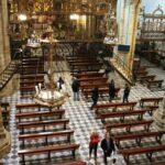 Nave de la iglesia del monasterio de Guadalupe