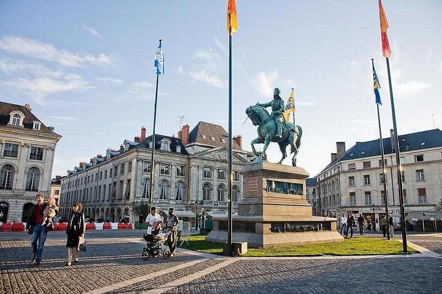 Monumento a Juana de Arco en Orleans. Foto: Angel Martínez Bermejo