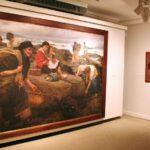 Pinturas en el museo Jovellanos de Gijón