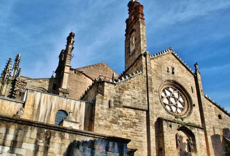 Catedral de Plasencia en Extremadura