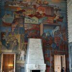 Decoración interior del Ayuntamiento de Oslo