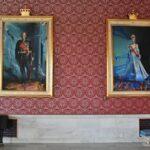 Retratos de la Familia Real noruega en el Ayuntamiento de Oslo