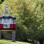 Antigua cabina del Teleférico de Fuente Dé en Picos de Europa