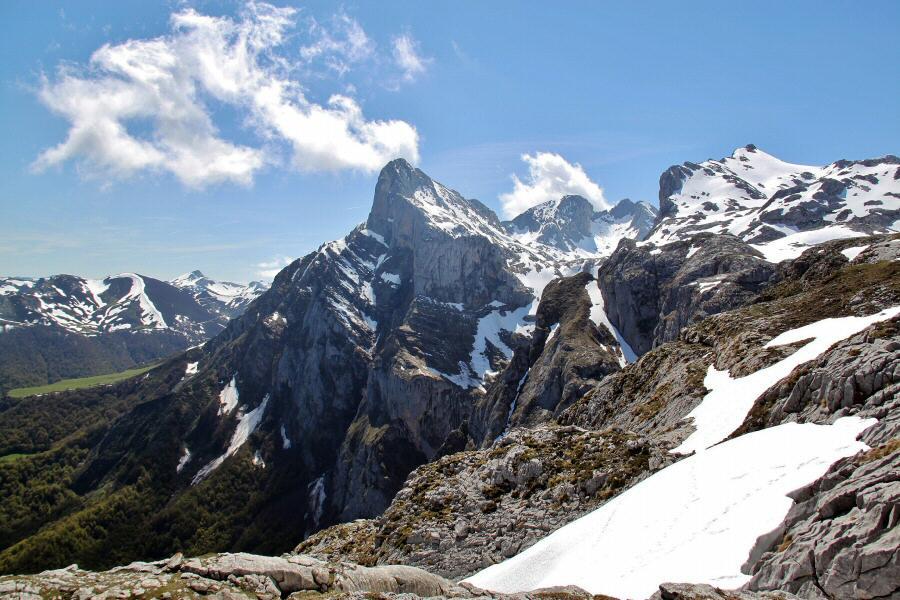 Picos de Europa desde el mirador de Fuente Dé