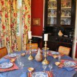 Comedor del hotel rural Finca Las Longueras en Gran Canaria