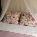 Dormitorio en los apartamento Los Zapatos Morados en Haro