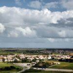 Vistas panorámicas de la isla de Ré desde Faro de las Ballenas