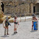 Lucha de gladiadores en el festival Tarraco Viva de Tarragona