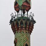 Torre minarete del Capricho de Gaudí en Comillas