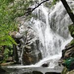 Cascada en la Garganta de las Nogaledas del Valle del Jerte