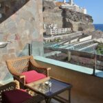 Terraza de habitación del hotel Gloria Palace Royal en Gran Canaria