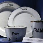 Vajilla del barco Fram en el museo Fram de Oslo