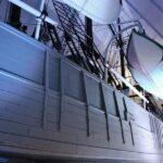 Barco Fram en el museo Fram de Oslo