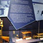Instrumentos científicos en el museo Fram de Oslo