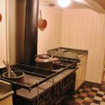 Cocina del barco polar Fram en el museo Fram de Oslo