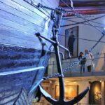 Barco polar Fram en el museo Fram de Oslo