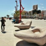 Paseo marítimo de Vinaroz en Castellón
