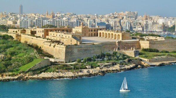 Vistas desde La Valeta en Malta