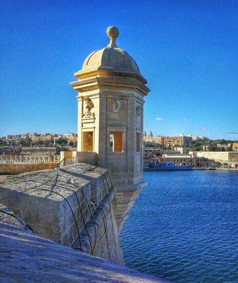 Mirador de Senglea en Malta
