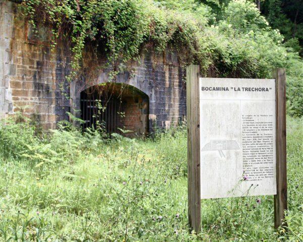 Bocamina La Trechora en Ecomuseo Minero de Samuño en Asturias