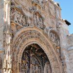 Portada de la iglesia de Santa María la Real en Aranda de Duero