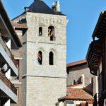 Torre campanario de la iglesia de Santa María Aranda de Duero