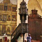 Púlpito de la iglesia de Santa María Aranda de Duero