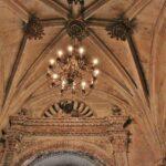 Detalle del techo de la iglesia de Santa María Aranda de Duero