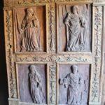 Puerta de entrada a la iglesia de Santa María Aranda de Duero