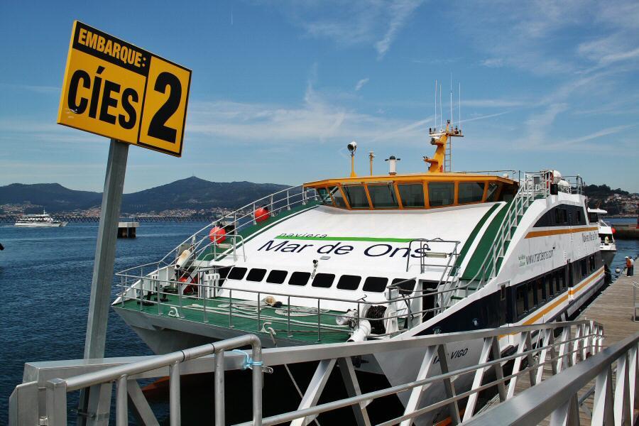 Galicia – Cómo cruzar en barco desde Vigo a las islas Cíes