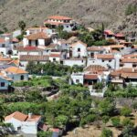 Aldea de Fataga en el interior de Gran Canaria
