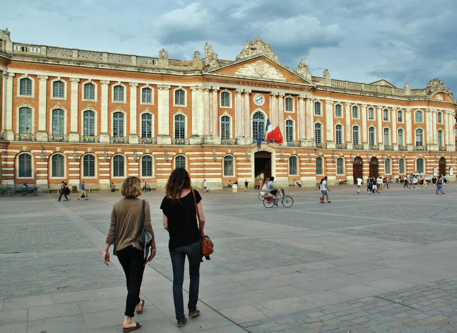 Plaza del Capitolio en Toulouse en Midi-Pyrénées