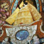 Virgen negra en la iglesia de Nuestra Señora Dorada en Toulouse