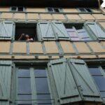 Casa medieval de madera en Toulouse en Midi-Pyrénées