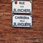 Señalización de calles en lengua occitana en Toulouse