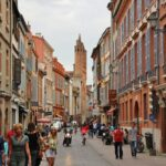 Centro histórico de Toulouse en Midi-Pyrénées