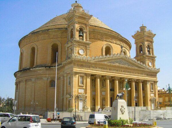 Iglesia de Mosta en Malta