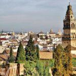 Vistas panorámicas desde el Alcázar de los Reyes Cristianos en Córdoba