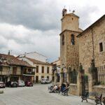 Plaza de la Independencia en Jerte en el Valle del Jerte