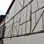 Casa entramada de madera y adobe en Jerte en el Valle del Jerte