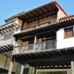 Arquitectura rural en Cabezuela del Valle en el Valle del Jerte