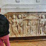 Sepulcro romano en el Alcázar de los Reyes Cristianos en Córdoba