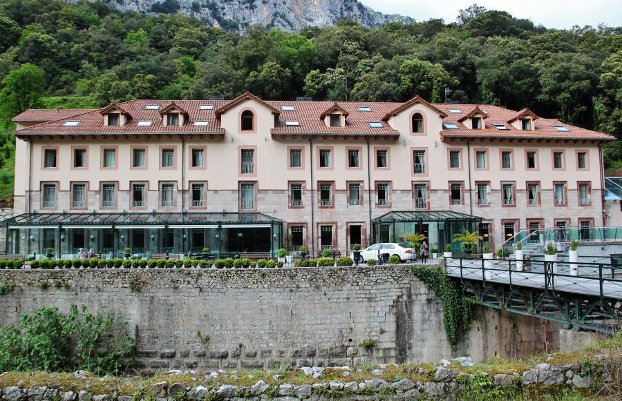 Balneario La Hermida en el Valle de Liébana en Cantabria