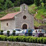 Ermita en el Balneario La Hermida en el Valle de Liébana en Cantabria