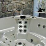 Bañera de hidromasaje en el Balneario La Hermida en Cantabria