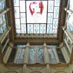 Interior modernista del Casino de Cartagena en Murcia
