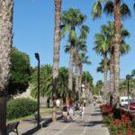 Paseo de Alfonso XII de Cartagena en Murcia